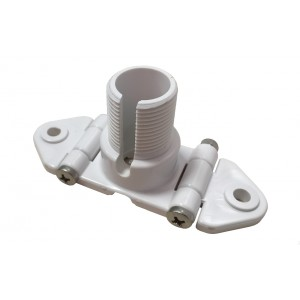 ITM001 - NYLON MOUNT FOR THE MAST WITH ADJUSTABLE ANGLE