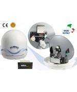MARS 4skew - Antenne TV Satellite avec skew automatique, 4 sorties, 60cm
