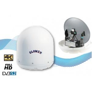MARS 4SKEW - ANTENA TV DE SATÉLITE CON SKEW AUTOMÁTICO - 60cm - 4 SALIDAS - FULL HD DVB-S2
