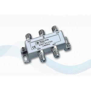 V9151 - Splitter 4 uscite per Antenna TV Terrestre