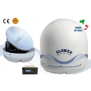 MARS 4 - V9804 - Antenne TV Satellite, 4 sorties, 60cm
