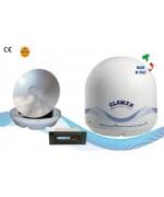 RHINE - R9804 - Antenne TV Satellite pour bateau fliviau, 60cm