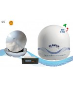 RHINE - R9804 - Satellite TV Antenna for river boat, 60cm
