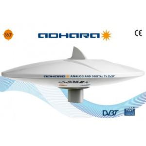 V9150/12 - Adhara - Antenna TV Terrestre Omnidirezionale con amplificatore a 6 uscite