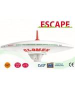 ESCAPE - C3779E - ANTENNE TV TNT OMNIDIRECTIONNELLE POUR CAMPINGCAR - 37CM DIAM