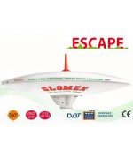ESCAPE - OMNIDIRECTIONAL DVBT TV ANTENNA FOR MOTORHOME - 37CM DIAM