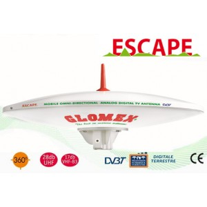 ESCAPE - C3779E - OMNIDIRECTIONAL DVBT TV ANTENNA FOR MOTORHOME - 37CM DIAM