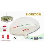 HORIZON - Z221 - Antenna TV Terrestre DIRETTIVA PER CAMPER - 37CM DIAM