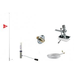 RA1206SUNSEA - Kit Antenna marina VHF 2,4m