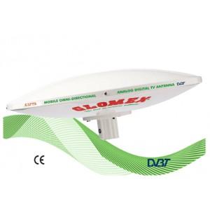 C3779K - OMNIDIRECTIONAL DVBT TV ANTENNA FOR MOTORHOME - 2010 MODEL - 37CM DIAM.