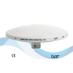 COMPACT - V9125/01K - MARINE OMNIDIRECTIONAL DVBT TV ANTENNA - ONLY 3 PCS AVAILABLE!