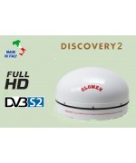DISCOVERY 2 - Stationary FULL HD DVB-S2 Satellite TV Antenna