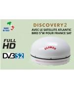 DISCOVERY 2 - ANTENNA TV SATELLITARE STAZIONARIA FULL HD DVB-S2