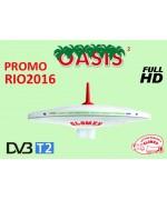 OASIS² - OMNIDIRECTIONAL DVBT TV ANTENNA FOR MOTORHOME - 25CM DIAM
