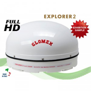 EXPLORER 2 - S500MK - ANTENNA TV SATELLITARE FULL MOTION - CAMPIONE DA FIERA