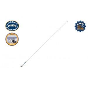 RA106SLSFME - Glomeasy line VHF Antenna, 90cm - stainless steel whip - FME term.