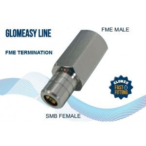 Adaptateur SMB / FME mâle pour radio DAB
