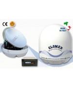 SATURN4 - ANTENNA TV SATELLITARE RICONDIZIONATA - 47cm - 4 USCITE - FULL HD DVB-S2