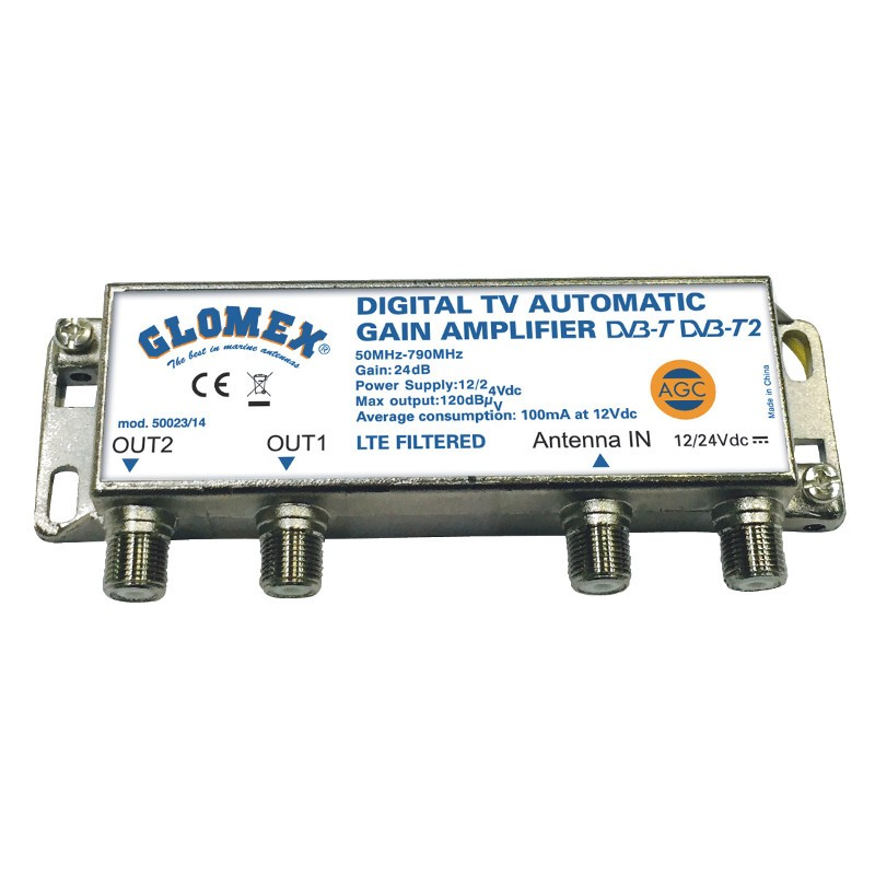 AUTOMATIC GAIN CONTROL AMPLIFIER - Glomex Store