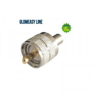 CONECTOR UHF PL259 MACHO – GLOMEASY LINE