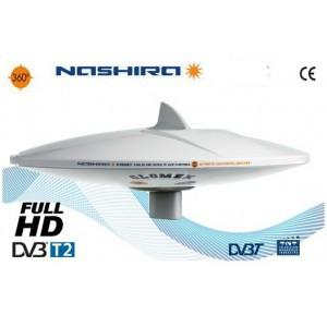 NASHIRA - SOLO ANTENNA TV TERRESTRE OMNIDIREZIONALE - 37cm diam